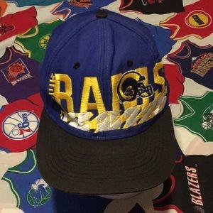 Vintage Logo 7 St Louis Rams SnapBack hat